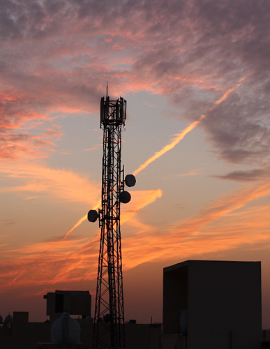 Cell Tower Sunset-01-1